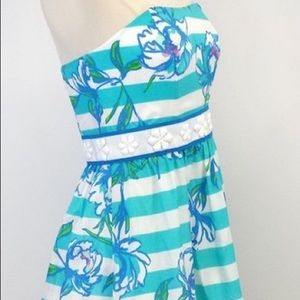 Lilly Pulitzer Strapless Dress